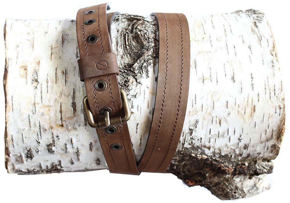 Slim Buttoned Belt