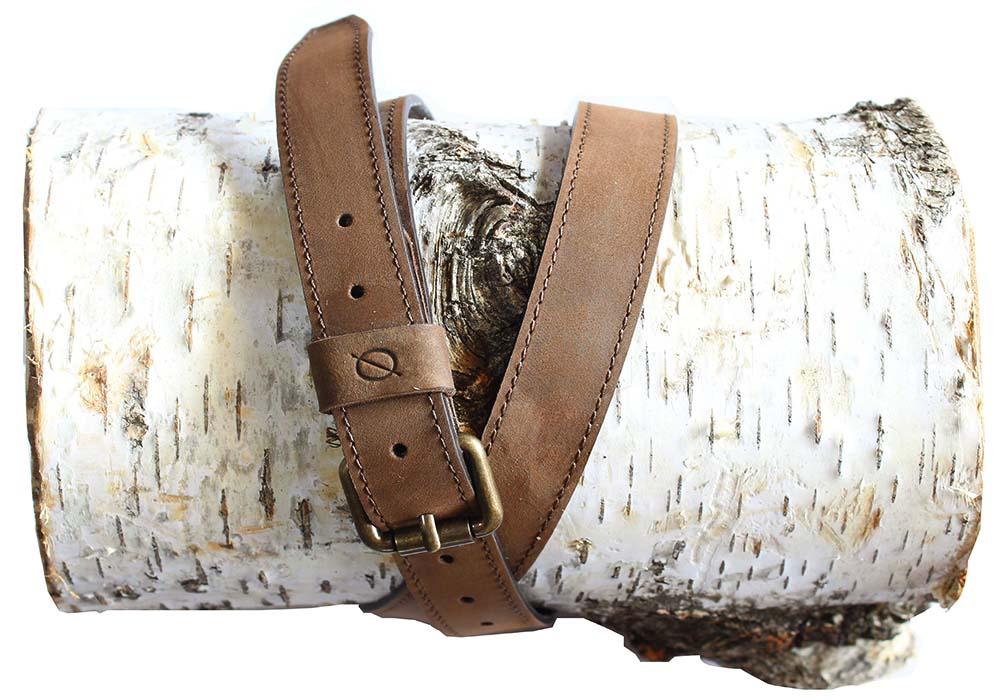 Slim Stitched Belt