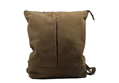 Punch Leather Backpack
